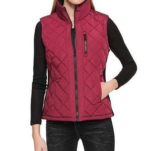 Andrew Marc Quilted vest.